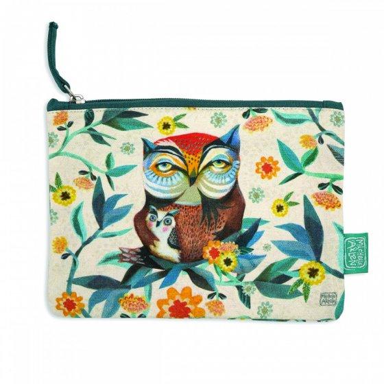 LOT 10 POCHETTES OWL & OWLET
