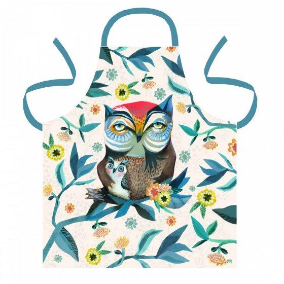 LOT 6 TABLIERS ADULTE  OWL & OWLET